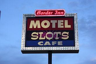 Border Inn - Border Inn Sign