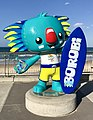Borobi mascot of the 2018 Commonwealth Games at Surfers Paradise, Queensland 01.jpg