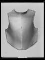 Bröstharnesk, karolinsk typ 1600-talets slut - Livrustkammaren - 27955.tif