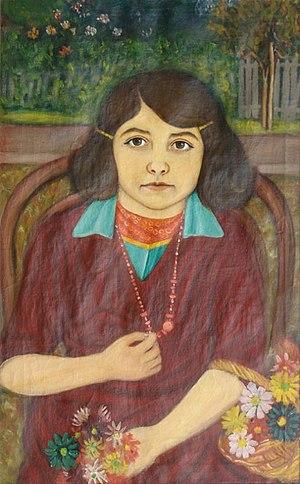 Janko Brašić - Image: Brašić Janko, Portret ćerke
