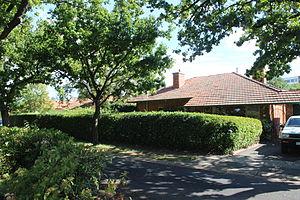 Braddon, Australian Capital Territory - Braddon Garden City heritage precinct house