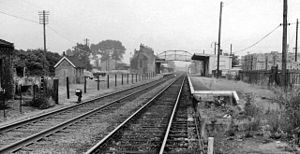 Brandon railway station - Image: Brandon (Norfolk) Station 1890185 045ccc 3b