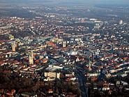 Braunschweig Luftaufnahme Innenstadt (2011)