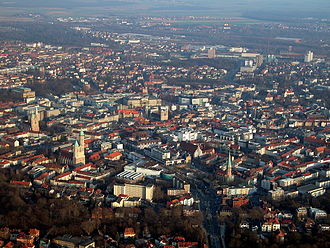 Braunschweig - View over Braunschweig