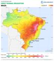 Brazil DNI Solar-resource-map GlobalSolarAtlas World-Bank-Esmap-Solargis.png