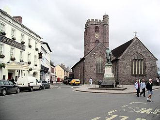 Brecon - Image: Brecon Centre