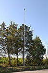 Brevet-Lieutenant William Brooke Rawle Memorial Flagpole.jpg