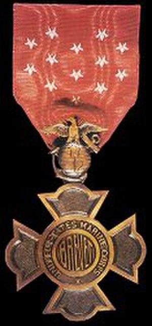Littleton Waller - Image: Brevet Medal