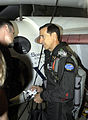 Brian Binnie flight preflight before the final SpaceShipOne flight 17P photo D Ramey Logan.JPG
