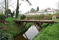 Bridge over a backwater off the River Medway, East arleigh - geograph.org.uk - 1265798.jpg