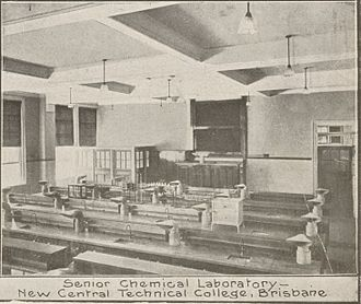 Brisbane Central Technical College - Chemistry (E Block), 1915