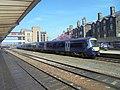 British Rail Class 170, Harrogate railway station (19th April 2019) 002.jpg