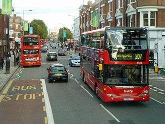 West Ealing - Image: Broadway, West Ealing geograph.org.uk 3166964