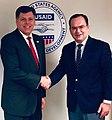 Brock Bierman and Dmitry Basik at USAID - 2020.jpg