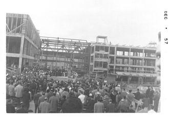 Bronx High School of Science - Dedication of the new building in 1957