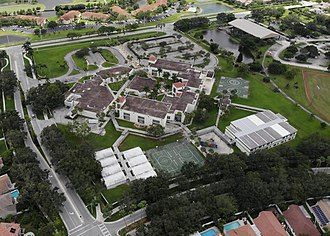 Sunrise, Florida - An aerial shot Sawgrass Elemantary.