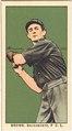Brown, Sacramento Team, baseball card portrait LCCN2008677319.tif