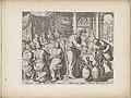 Bruiloft te Kana Wonderen van Christus (serietitel) Theatrum Biblicum Hoc Est Historiae Sacrae Veteris et Novi Testamenti Tabulis Aeneis Expressae (serietitel), RP-P-1976-30-280.jpg