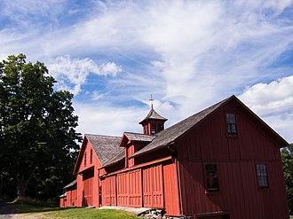 William Cullen Bryant Homestead - Image: Bryant Barn