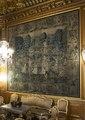 Brysseltapeter i stora salongen förestälande Odysseus och Nausikaa, 1570- tal - Hallwylska museet - 106909.tif