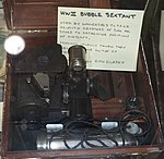Bubble Sextant, World War II - Oregon Air and Space Museum - Eugene, Oregon - DSC09885.jpg