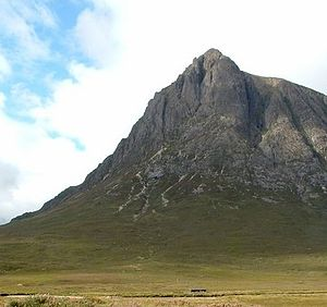 Munro - Buachaille Etive Mòr's north-east face