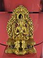 Buda Maitreya, segle XVII, Tibet, museu d'etnografia de Neuchâtel.JPG