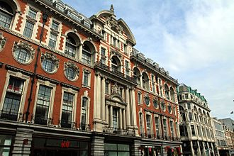 R. Frank Atkinson - Image: Building on Oxford Street in the City of Westminster, London in spring 2013 (10)