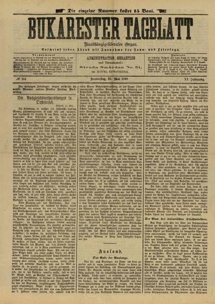 File:Bukarester Tagblatt 1890-05-22, nr. 114.pdf