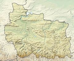 Bulgaria Gabrovo Province relief location map.jpg