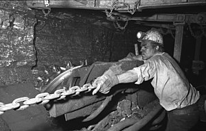 Italians in Germany - Italian worker in Duisburg in 1962