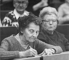 Пожилые студенты в лейпцигском