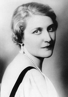 Magda Goebbels Wife of Nazi Propaganda Minister Josef Goebbels