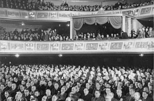 German People's Congress - Participants of the first People's Congress, Admiralspalast, Berlin