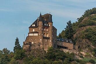 Katz Castle - Image: Burg Katz, St. Goarshausen, Southwest view 20141002 2