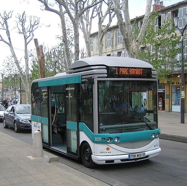 File bus aix en wikimedia commons - Aix en provence salon de provence bus ...
