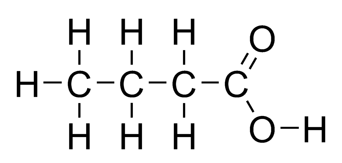 acide butanoique