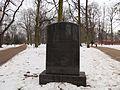 Były cmentarz Mikołaja i Królewskiej Kaplicy przy alei Zwycięstwa w Gdańsku.JPG