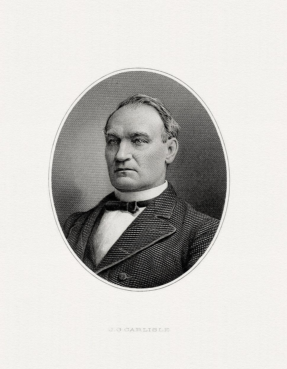 CARLISLE, John Griffin-Treasury (BEP engraved portrait)