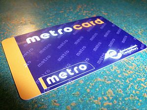 Public transport in Christchurch - Metrocard issued by Environment Canterbury for use on Metro services