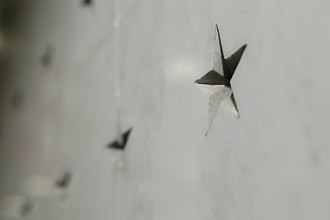 CIA Memorial Wall - One of the engraved stars