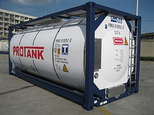 Tank container - Universal tank container
