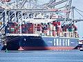 CMA CGM Jules Verne (schip, 2013) Port of Rotterdam pic1.JPG