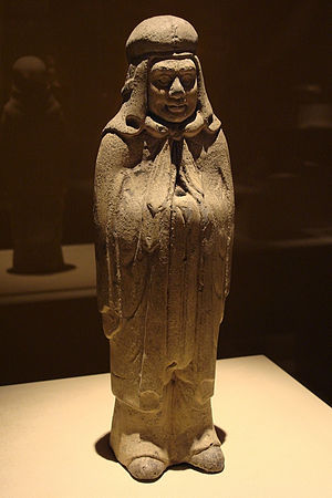 Xianbei - Figure of a Xianbei warrior from the Northern Dynasties (286-581 AD) era