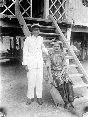 Sigi Regency - Prince and princess of Kulawi