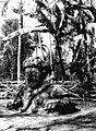 COLLECTIE TROPENMUSEUM Stenen tempelwachter bij de Candi Singosari TMnr 60016433.jpg