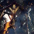COLLECTIE TROPENMUSEUM Verbranding van een doodskist in de vorm van een stier tijdens een crematie TMnr 20018462.jpg
