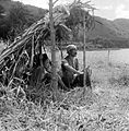 COLLECTIE TROPENMUSEUM Vissers bij een stuwmeer ten Noorden van Tjisarua West-Java TMnr 10013478.jpg