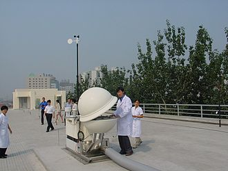 Preparatory Commission for the Comprehensive Nuclear-Test-Ban Treaty Organization - IMS Radionuclide station RN20, Beijing, China. The station is also equipped for noble gas monitoring.