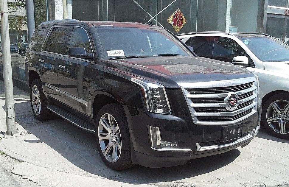 Cadillac Escalade IV 01 China 2015-04-14